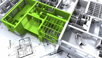 plan 3d appartement